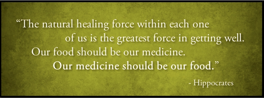 Let food by thy medicine